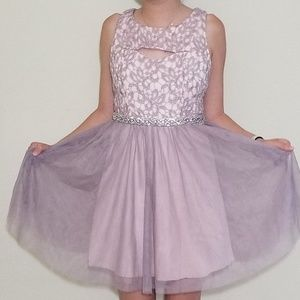 Pink - Sequin Hearts homecoming dress - Size 3